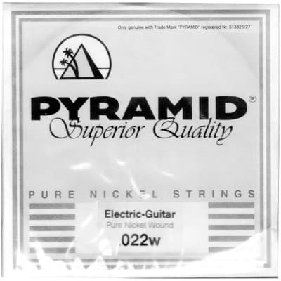 Pyramid Pure Nickel 022w Single String
