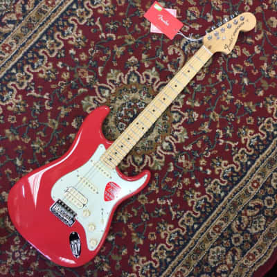 Fender American Special Stratocaster HSS 2017 Limited Edition Fiesta Red for sale
