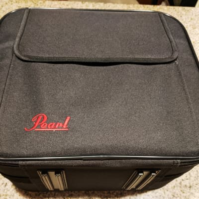 Pearl Eliminator 2002 Single Pedal Carrying Case, Pockets, Strap, Great For Any Double Pedal