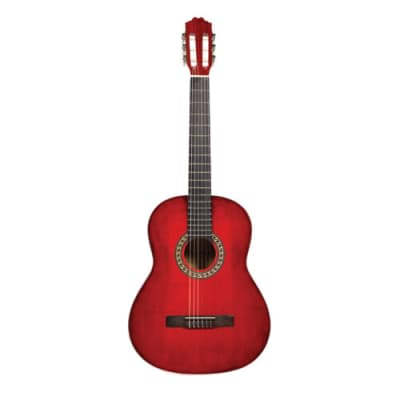 Beaver Creek BCTC901TR Classical Acoustic Guitar BCTC901 TR (Trans Red) for sale
