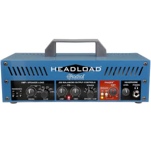 Radial Headload V8 Guitar Amp Load Box 8 Ohm Attenuator