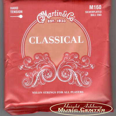 Martin M160 Ball End Silver Plated Classical Guitar Strings