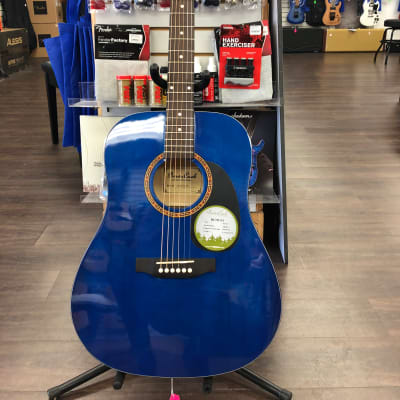 Beaver Creek BCTD101 Acoustic w/Bag Blue for sale