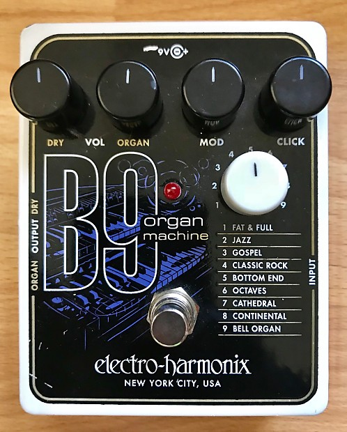 electro harmonix b9 organ machine paul 39 s gear depot reverb. Black Bedroom Furniture Sets. Home Design Ideas