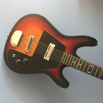 1970s Sekova Solid Body - Teisco - Very Clean - Set Up - Original Case for sale