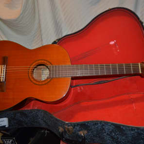 kiso suzuki g45 classical guitar natural for sale