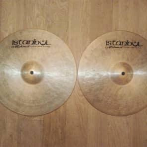 "Istanbul Mehmet 14"" Traditional Series Medium Hi-Hat Cymbals (Pair)"