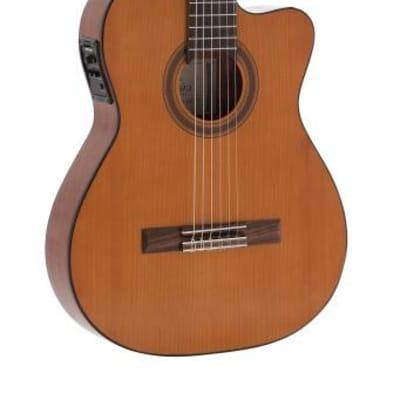 Admira Malaga-ECTF cutaway electrified classical guitar with thin body, Electrified series Acoustic Guitar MALAGA-ECTF for sale