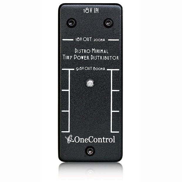 one control distro minimal pack guitar effects pedal power reverb. Black Bedroom Furniture Sets. Home Design Ideas