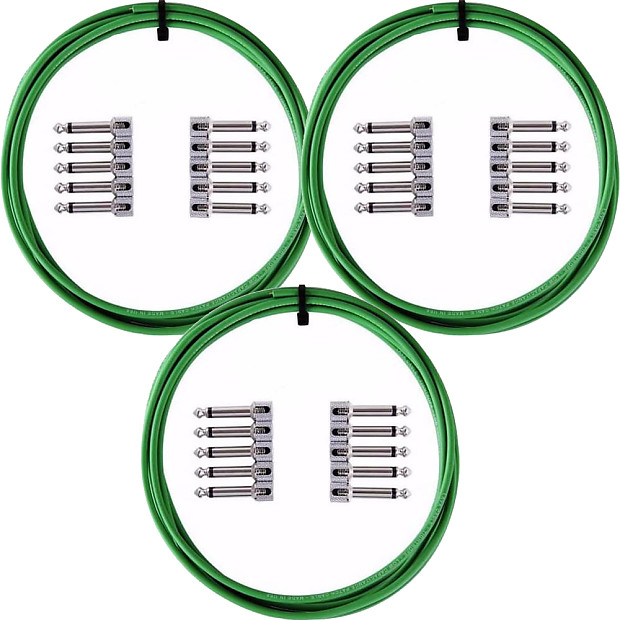 3-Pack LAVA Cable Tightrope Solder-Free Patch Kit Black