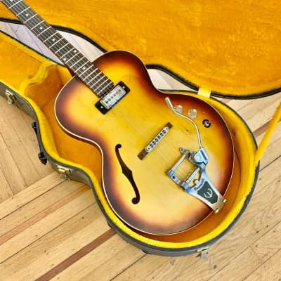 Epiphone Granada e-444 1963 Sunburst original vintage USA Gibson es120 Kalamazoo