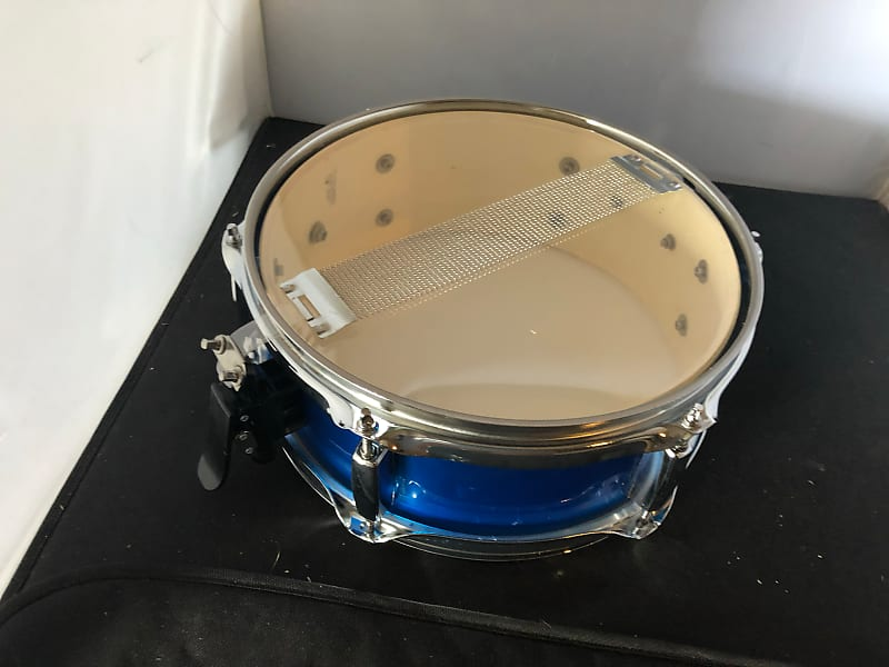 pulse 12 x 5 snare drum 38 metallic blue with chrome reverb. Black Bedroom Furniture Sets. Home Design Ideas