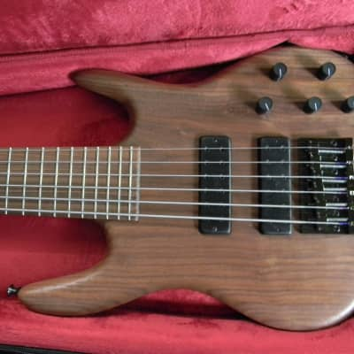 2021 Ken Smith CR6M 6 String Electric Bass Black Walnut  Natural Satin Brand New Authorized Dealer ! for sale