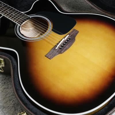 Takamine P6JC BSB Pro Series 6 Jumbo Cutaway Acoustic/Electric Guitar Brown Sunburst Gloss