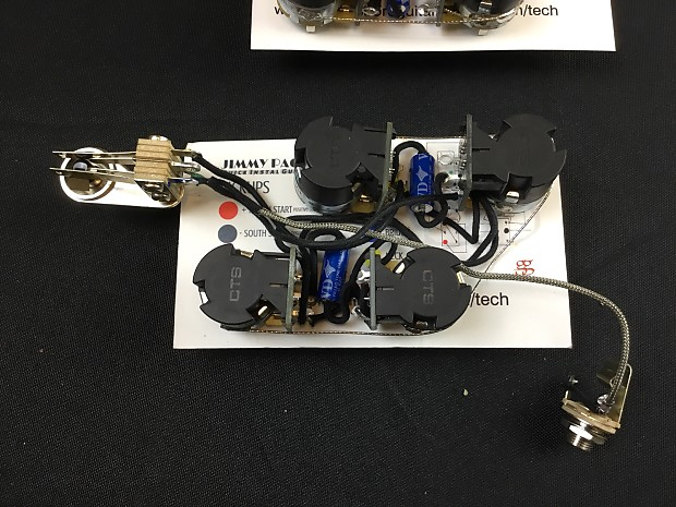Ultimate Sg Jimmy Page Wiring Push