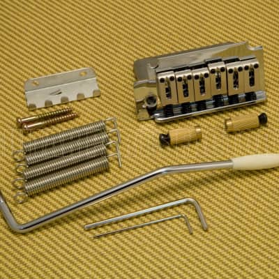 Squier by Fender Strat 2-pivot Standard Left-Handed Tremolo Bridge 007-7487-000 image