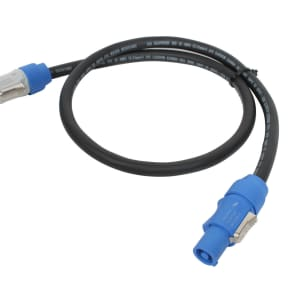 Elite Core Audio PC12-AB-3 PowerCon Power Extension Cable - 3'
