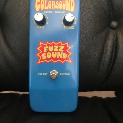Colorsound Fuzz Sound 2017 DAM build (Sola Sound) for sale