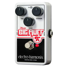 Electro Harmonix Nano Big Muff Pi Distortion Sustain Guitar Pedal