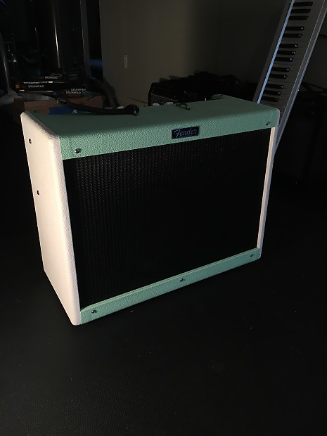 Fender Hot Rod Deluxe 2013 Surf Green/ White