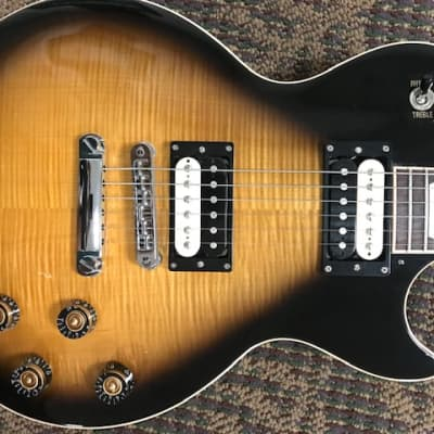 Gibson 2015 Les Paul Traditional Pro III Flame Maple Top 2015 Tobacco Burst for sale