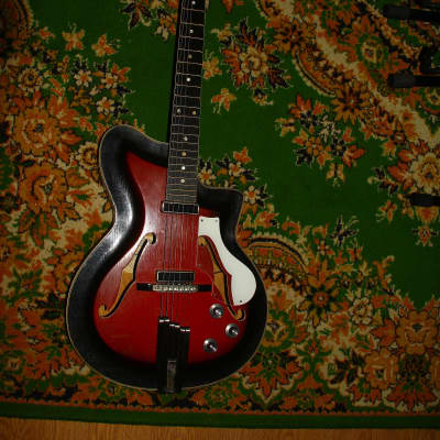CREMONA Hollow Body Soviet Electric Guitar jolana musima ORFEUS for sale