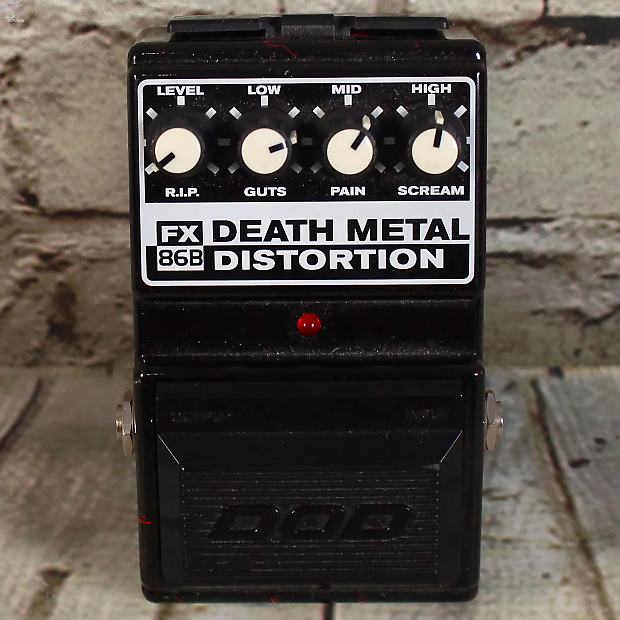 dod death metal distortion fx86b reverb. Black Bedroom Furniture Sets. Home Design Ideas