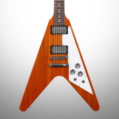 Gibson Flying V Electric Guitar (with Case), Antique Natural