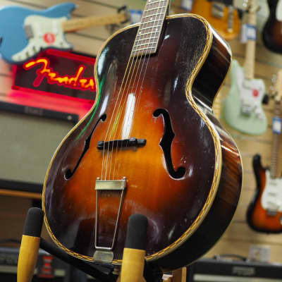 Rex Aragon by Gretsch / Harmony Vintage Archtop Made in USA 1930s - 1940s Sunburst for sale
