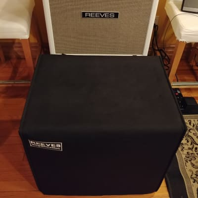 Reeves 4x10 SEALED Bass Cabinet, Logo Padded Cover & Mesa Removable Casters - 3' Cable - Ampeg SVT for sale
