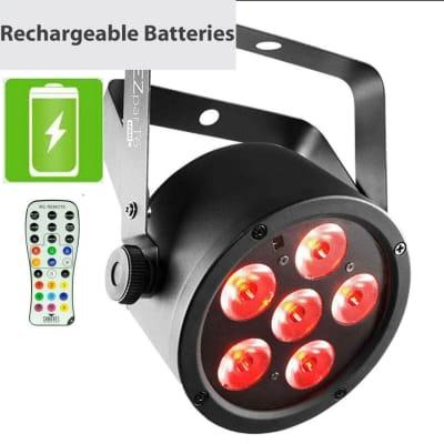 Chauvet DJ EZpar T6 USB USB Battery-Operated Tri-Color RGB LED Wash Light