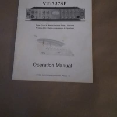 Avalon 737 SP Official Manual