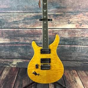 Dillion Left Handed DR1500QTI Electric Guitar- Lemon Drop - Guitar Only for sale