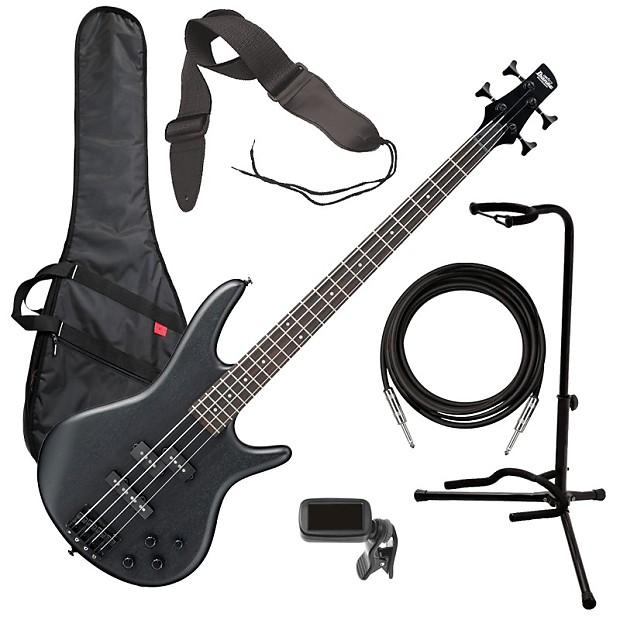 ibanez gsr200b 4 string bass guitar weathered black bass reverb. Black Bedroom Furniture Sets. Home Design Ideas