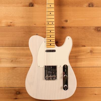 Fender Custom Shop 1958 Vintage Custom Telecaster, Aged White Blonde NOS Flash Coat for sale
