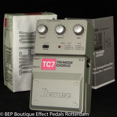 New Old Stock Ibanez TC7 Tri-mode Chorus s/n 07300469