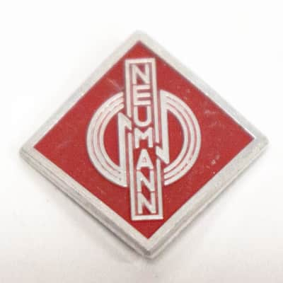 Genuine Neumann Replacement Red Badge for TLM 50 TLM 193 Microphone