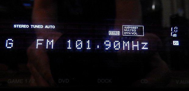 Denon AVR-1912 HDMI home theater receiver with remote