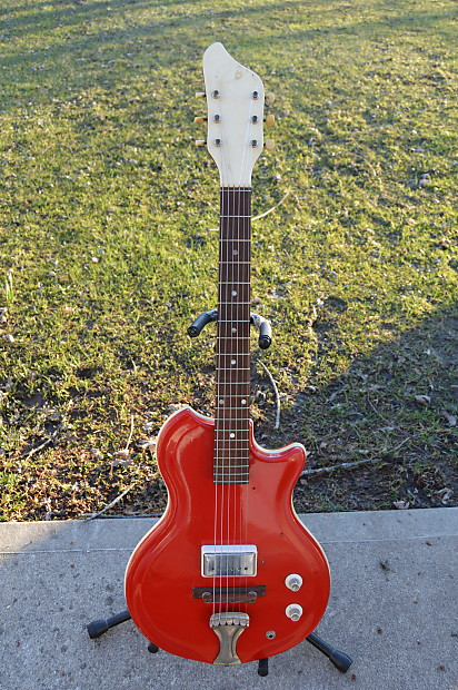 Supro Belmont 1962 Aged Dakota Red | DSB Guitars