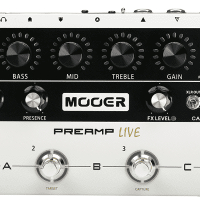 Used Mooer Preamp Live Guitar Effects Pedal!