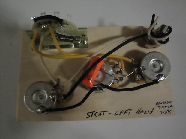 Made for Fender Stratocaster True Left Hand Wiring Harness | ReverbReverb
