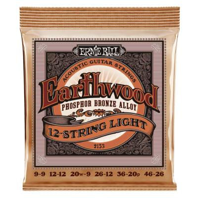 Ernie Ball 12-string Phospher Bronze Acoustic Slinky