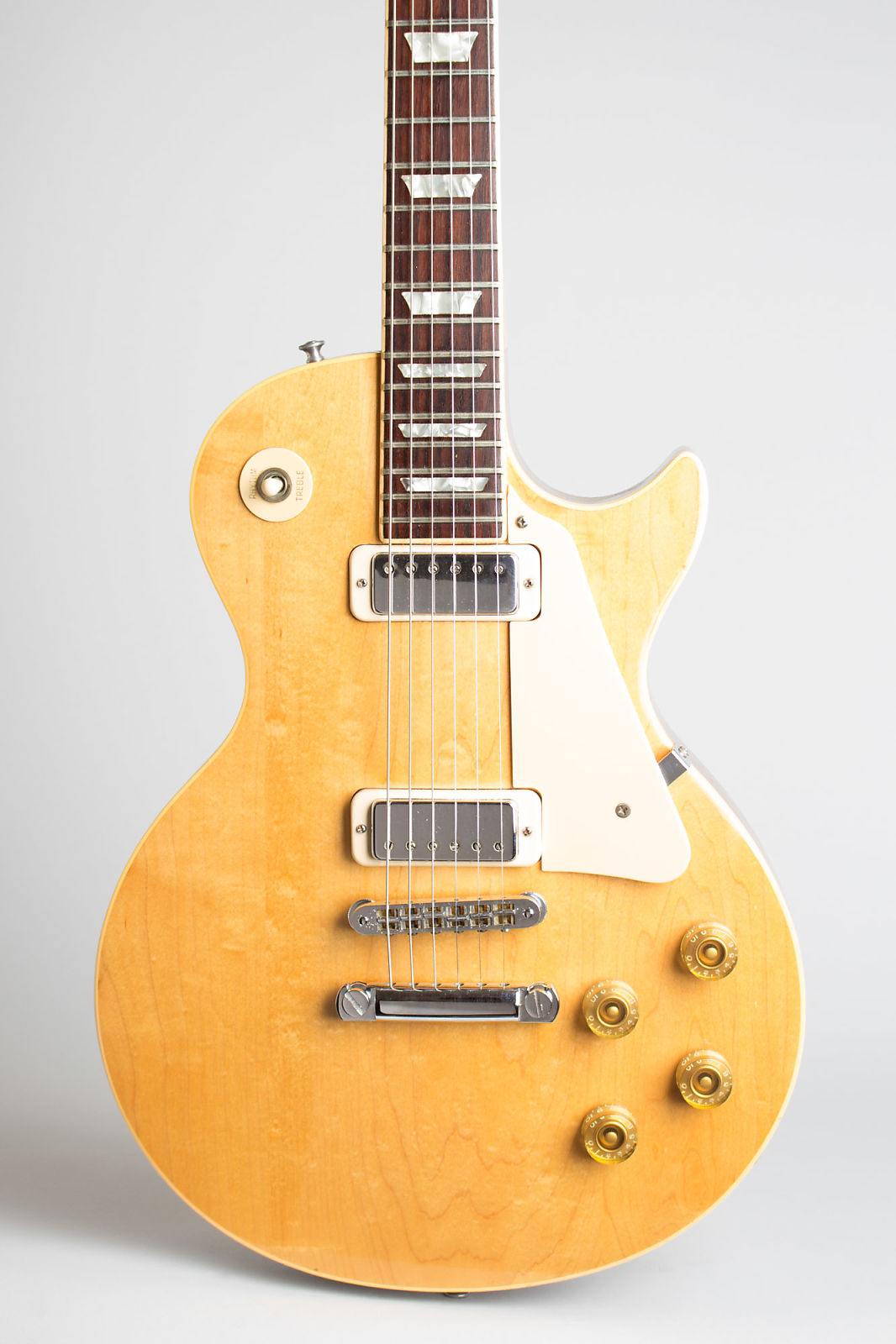 Gibson  Les Paul Deluxe Solid Body Electric Guitar (1979), ser. #70649567, black hard shell case.