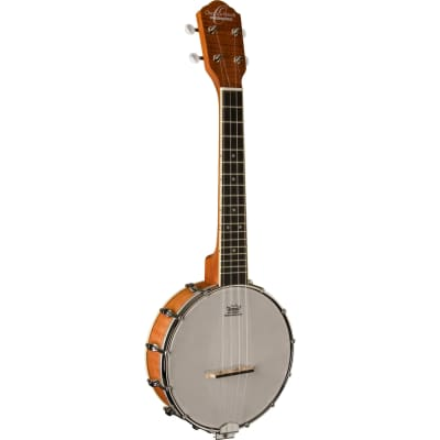 Oscar Schmidt OUB1 Banjolele 4-String Concert Banjo Ukulele, Satin Natural for sale