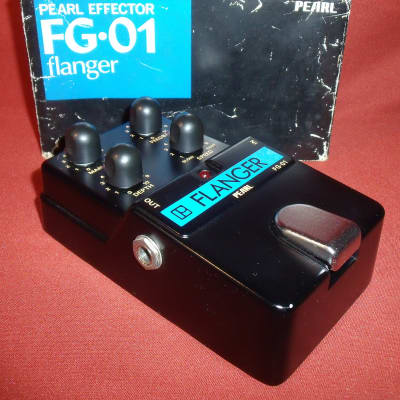 Vintage Pearl FG-01 Flanger MIJ Japan pedal with box for sale