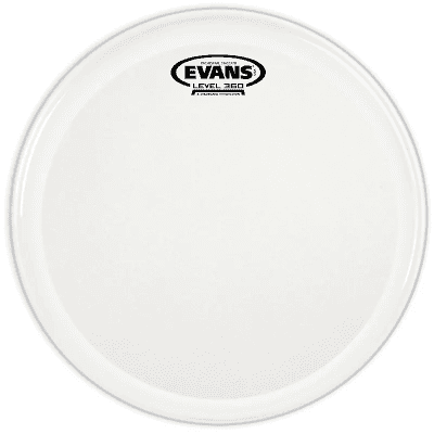 Evans B14GCSS Orchestral Stacatto Coated White Snare Drum Head - 14""