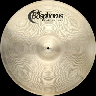 "Bosphorus 20"" Traditional Series Thin Ride Cymbal"