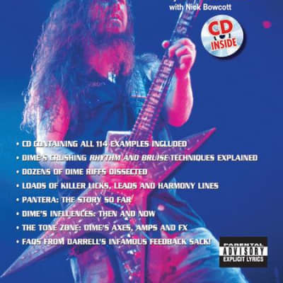 Guitar World Presents - Dimebag Darrell's Riffer Madness (CD Included)