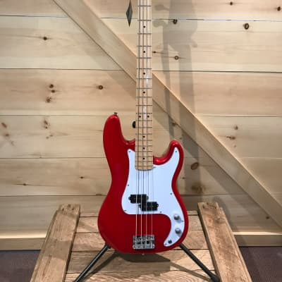 Jay Turser Precision Bass Guitar - Red for sale