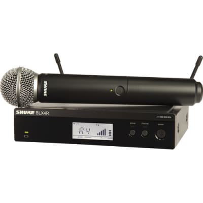 Shure Vocal Sys Blx4R Wrls Rec Sm58